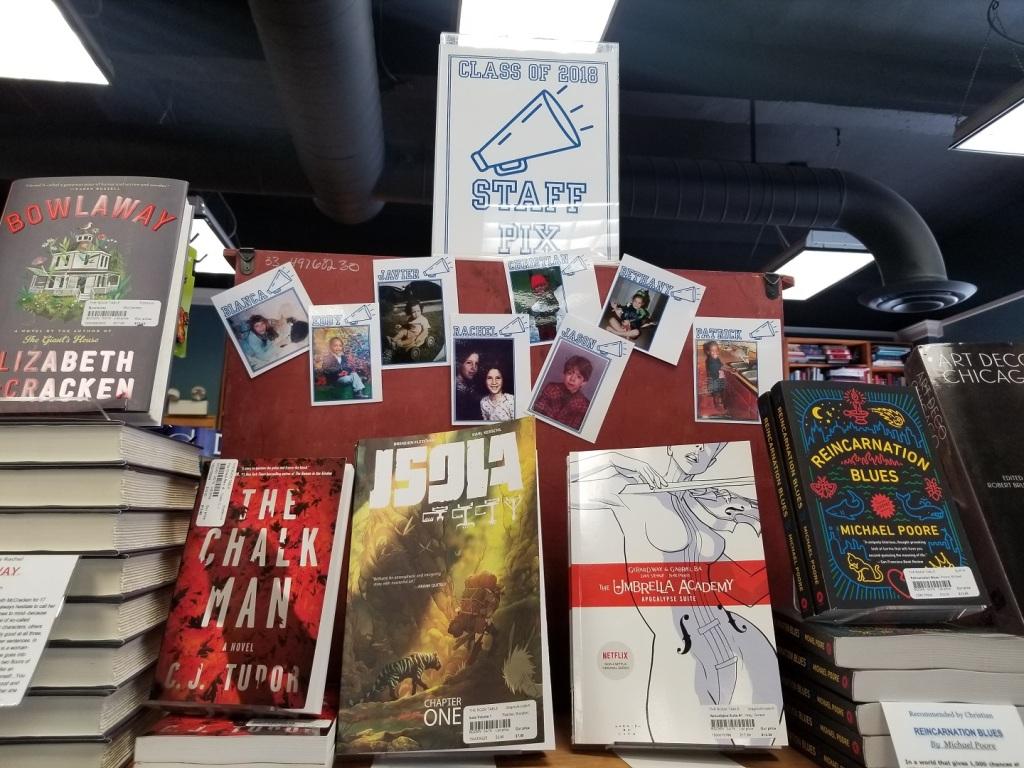 The Book Table bookstore in Oak Park, IL