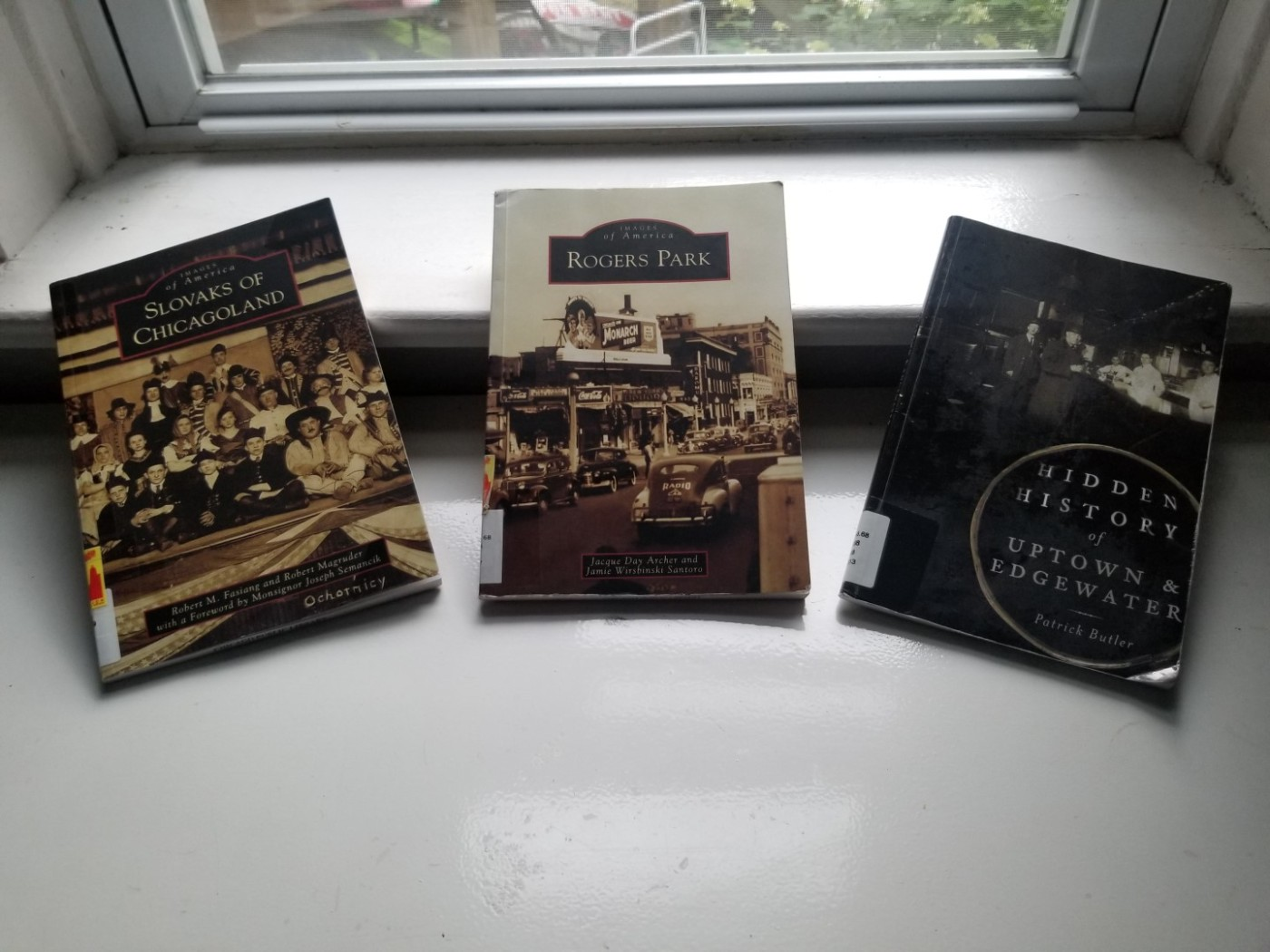 Three titles from Arcadia Publishing/The History Press